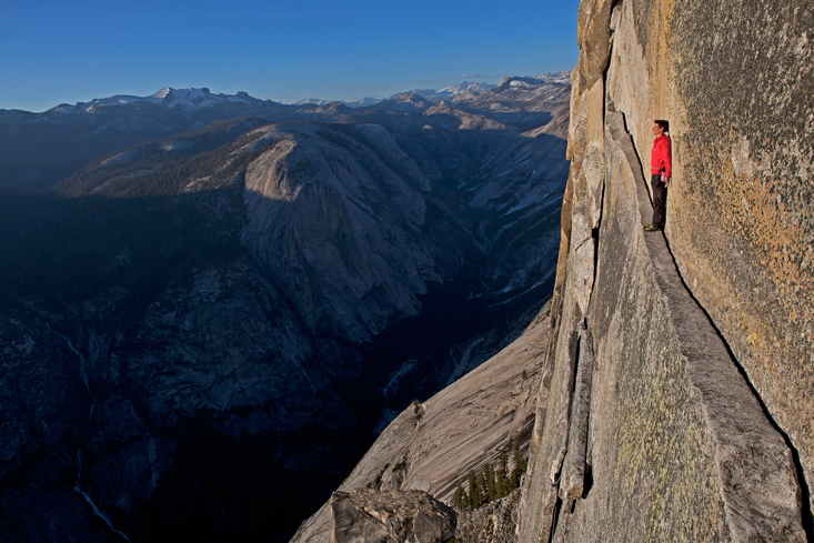 Alex Honnold in 2008 on the
